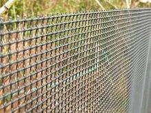 Kunststoff Garten Zaun 1m x 10m schwarz 5mm Löcher grün Vogelschutznetz robust Mesh–Ideal für Pflanzen, Haustiere, Schutz-Screening und Klettern pflanzlich Stütznetz
