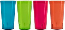 Kunststoff Gläser Plastik Geschirr Set - Kryllic