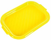 Kunststoff Grill Tablett 40x 28cm Gelb