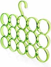 Kunststoff Haushalt Multifunktion Schal Kleiderbügel Gürtel Krawatte Gürtel Lagergestell ( Farbe : A )