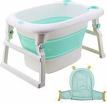 Kunststoff-Kinderbadewanne Baby-Faltwanne nach
