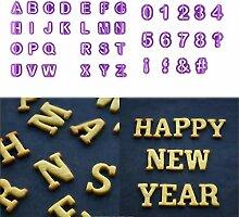 Kunststoff Kuchen Buchstaben Cutter Diy Alphabet