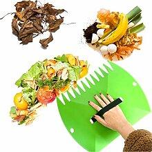 Kunststoff Leaf Schaufeln 2 Stück Laubsammler