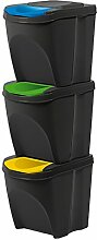 Kunststoff Mülltrennsystem Mülleimer
