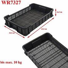 Kunststoff-Obstkiste WR7327 (10kg) 10 Stück