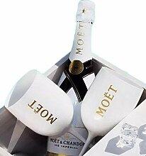 Kunststoff Wein Party weiß Champagner Glas Moet