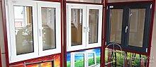 Kunststofffenster Gealan 8000 Fenster Weiß 1 Flg DKR, 600x1200