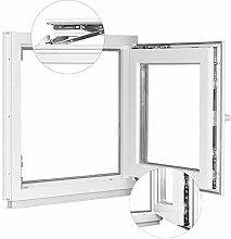 Kunststofffenster Kellerfenster Fenster - 2 fach