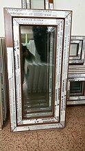 Kunststofffenster Salamander 50x100 cm (b x h), außen eiche gold ; innen weiß, DIN rechts