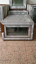Kunststofffenster Salamander 60x40 cm (b x h), außen eiche gold ; innen weiß