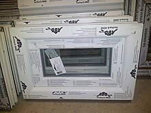 Kunststofffenster Seebach8000 60x40 cm (b x h), weiß, Kippöffnung