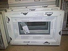 Kunststofffenster Seebach8000 80x40 cm (b x h), weiß, Kippöffnung