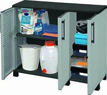 Kunststoffschrank klein mit Zusatzfach Family