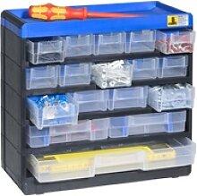 Kunststoffschrank mit behältern pro 53/100, 17