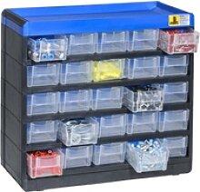 Kunststoffschrank mit behältern, varioplus pro