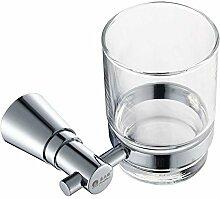 Kupfer Bad-Accessoires/Zahnbürste Glas/Becherhalter/Einzelbecherhalter