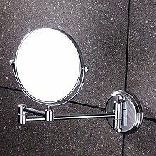 Kupfer bad Spiegel/Lupe/Spiegel/Folding Schminkspiegel/Teleskop Spiegel-B