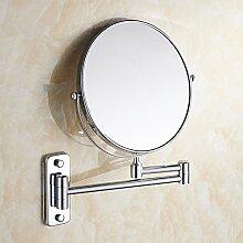 Kupfer Bad Spiegel Wandspiegel badezimmer. Ein- und ausklappbarer Spiegel Quadratmeter oder 6 Zoll