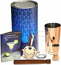 Kupfer Boston Cocktail Shaker Set mit Boston