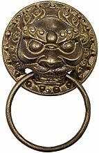 Kupfer Chinesisch Klopfer, Möbel Griffe Klassik