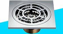 Kupfer Deodorant Abfluss/Dusche Bodenablauf mit