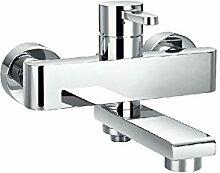 Kupfer dreifach Wasserhahn heiß und kalt/Dusche Mix Armatur Wasserhahn-A