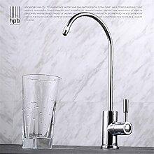 Kupfer einzigen kalten reinen Wasserhahn Spüle Spüle Wasserfilter direkt Trinkwasser kann gedreht werden/Küchenarmaturen / Küche Armatur / Mischbatterie /Wasserhahn /Spültischarmatur /Armatur für Küche / Spülbecken Mischbatterie