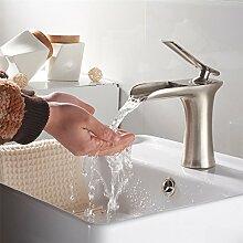Kupfer gebürstet Bad Wasserhahn gebürstet