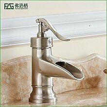 Kupfer gebürstet Bad Wasserhahn Waschbecken