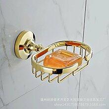 Kupfer Gold SEIFE NET Seifenschale Badezimmer Zubehör