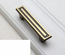 Kupfer Griff/Chinesischer Schrank Schublade Türklinke/American Kupfer Griff/einzelne Schuh Schrank-Style Griffe Schrank-B
