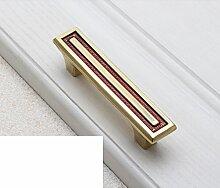 Kupfer Griff/Chinesischer Schrank Schublade Türklinke/American Kupfer Griff/einzelne Schuh Schrank-Style Griffe Schrank-F