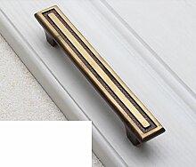Kupfer Griff/Chinesischer Schrank Schublade Türklinke/American Kupfer Griff/einzelne Schuh Schrank-Style Griffe Schrank-C