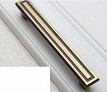 Kupfer Griff/Chinesischer Schrank Schublade Türklinke/American Kupfer Griff/einzelne Schuh Schrank-Style Griffe Schrank-D