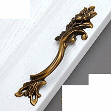 Kupfer Griff/Mantel,?,Schrank,American Hand/Europäisch,Chinesische Art,Lady Bronze Handle-goldene-A
