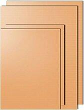Kupfer-Grillmatte, 4-teiliges Set, 100 %