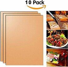 Kupfer Grillmatte Und Bake Mat Set Von 10 Non