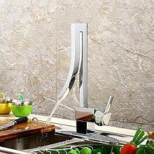 Kupfer Küchenarmatur einzigen Einlochmontage