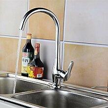 Kupfer Küchenarmatur Rotary Heißen Und Kalten