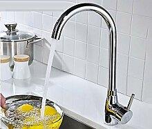Kupfer Küchenarmatur Waschbecken heiß und kalt