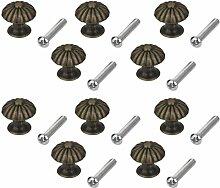 Kupfer-Legierung Griff - TOOGOO(R) 10pcs Mini