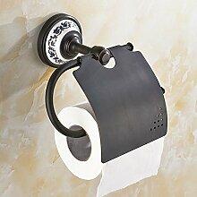 Kupfer Papierrollenhalter/Regal Von Wc-papier Für Badezimmer/Europäische Antike Bad Papierhalter/Toilette Hängen Handtuchtable