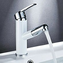 Kupfer Ramen Waschbecken Wasserhahn Heißes Und