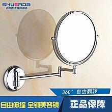 Kupfer Spiegel Bad mit doppelseitiger Spiegel