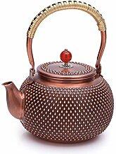 Kupfer Teekanne Teekessel Teekanne 1,5 Liter Reine