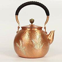 Kupfer Teekanne Teekessel Teekanne Reine