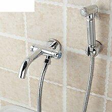 Kupfer Toilette Flusher Bidet Spray Mopzapfen