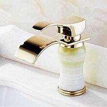 kupfer - toilette waschbecken wasserhahn modische jade europäischen stil natürlichen jade wasserhahn