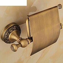 Kupfer Und Rustikale Toilettenpapierhalter,Europäische Wc-papier-fach,Roll-wickler,Toilettenpapier-regal,Vintage Handtuchhalter