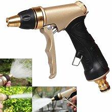Kupfer verstellbar Hohe Druck Garten Bewässerung Spritze Multifunktions Auto waschen Spray Düse Werkzeug ^.